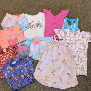Lot of 12 items girls size 4t